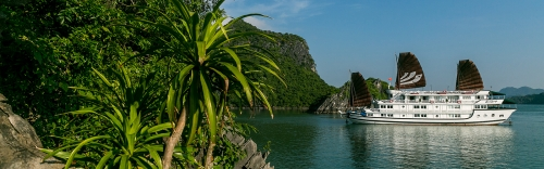 Halong Bay and its world recognized titles, photo by Bhaya Cruises
