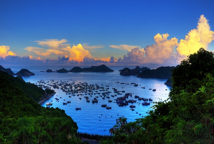Areas in Halong Bay - Lan Ha Bay, photo by Bùi Hồng Thắng